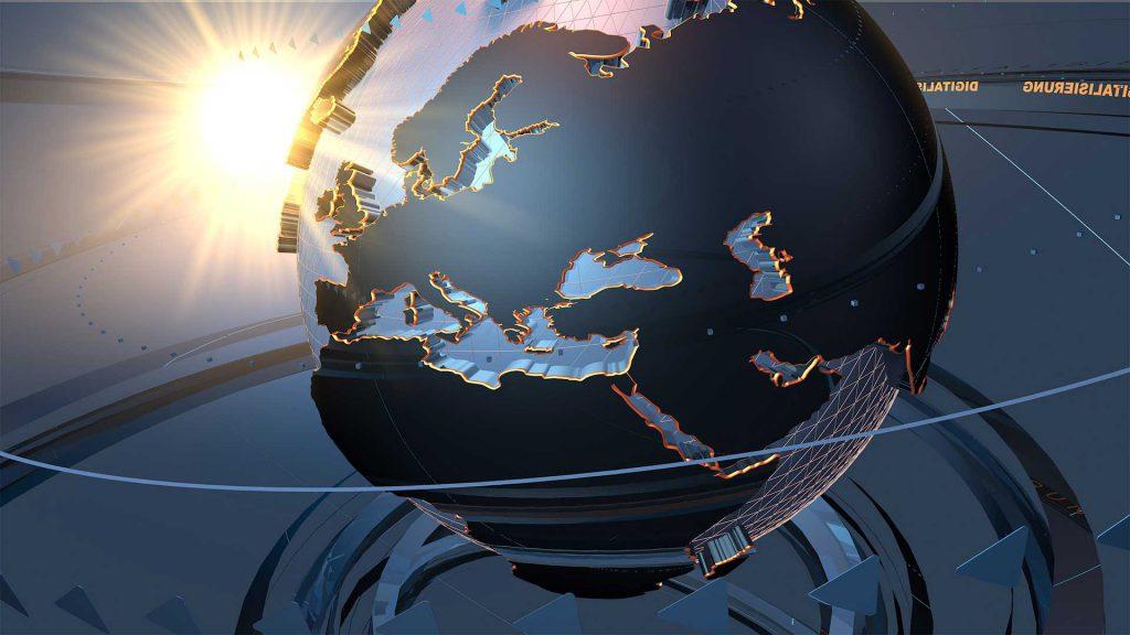 Planète qui représente le service site internet