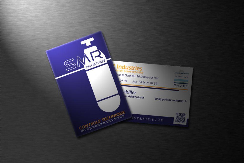 Carte de visite SMR Industries